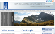 web design - new zealand financial planning