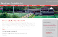 Web Design _ Parnell Lawn Tennis Club